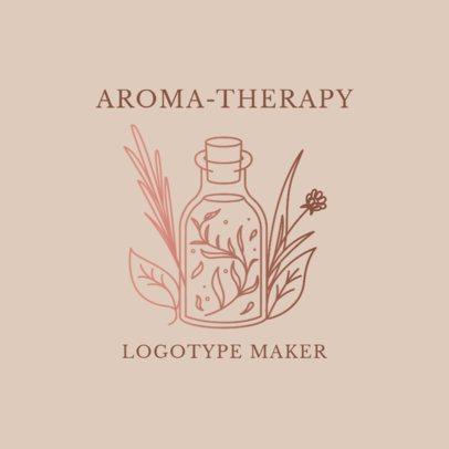 Alternative Medicine Logo Maker for Aromatherapy Products 2578e