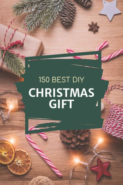Pinterest Pin Template for Christmas DIY Gifts 651h 1836