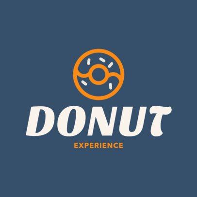Online Logo Maker for a Doughnut Shop 1011g-40-el