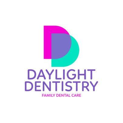 Abstract Logo Maker for a Dentistry Company 1026f-2584