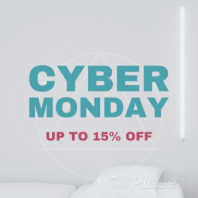 Cyber Monday Instagram Video Maker with Animated Transitions 936c 175