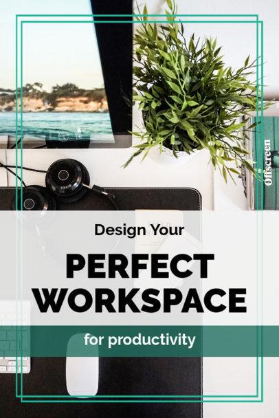 DIY Pinterest Pin Maker for a Workspace Design 1885b