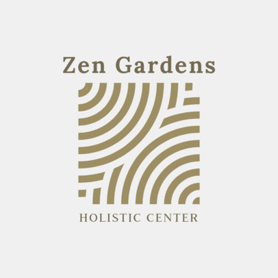 Abstract Logo Template for Holistic Centers 2578h-2639