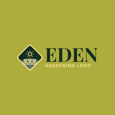 Online Logo Template for Gardening Companies 1422h 67-el