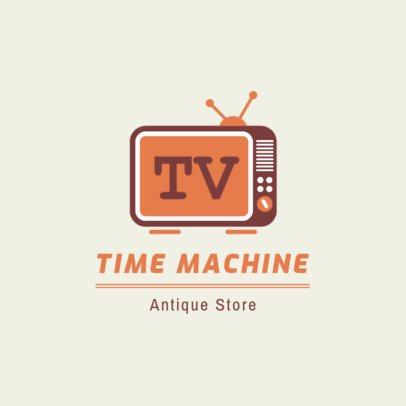 Online Logo Generator for a Retro Store 1319g 33-el