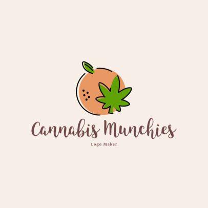 Logo Template for a Cannabis Edibles Shop 2648