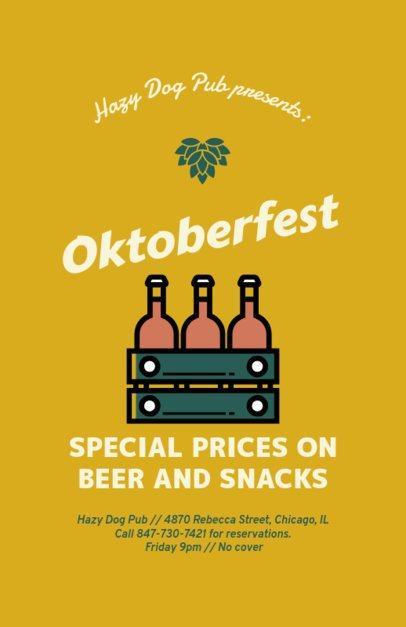 Online Flyer Maker for an Oktoberfest Celebration 94f-88-el