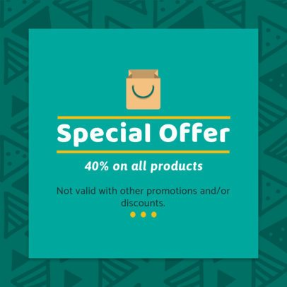 Coupon Design Template for a Special Offer 1020f 23-el