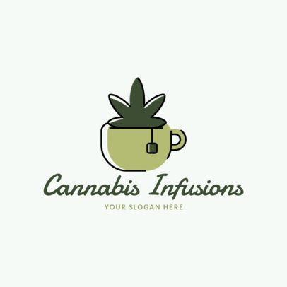 Logo Generator for a Cannabis Infusions Store 2648d