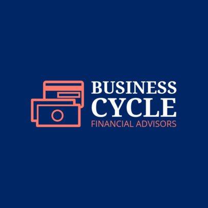 Logo Template for a Professional Financial Advisor 1160l 61-el