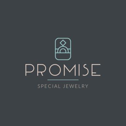 Classy Jewelry Logo Creator  2191i 124-el