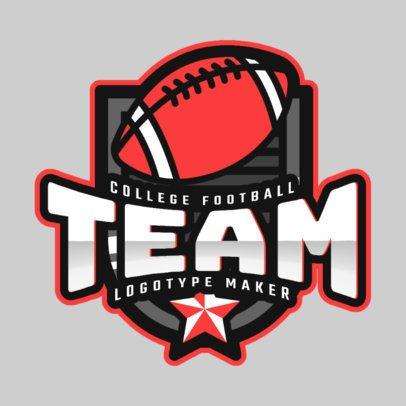 Logo Creator for a College Football Team 2702c