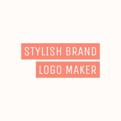 Stylish Logo Template for a Streetwear Clothing Brand 2721f