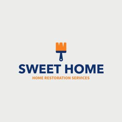Online Logo Maker for Home Restoration Services 1431f-155-el