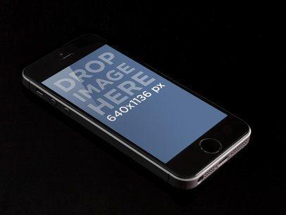 iPhone Portrait 5s Gray