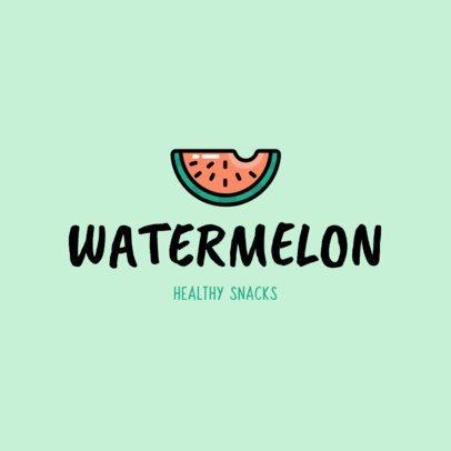 Healthy Snacks Logo Maker 1267i 221-el