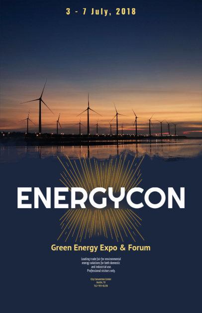 Flyer Maker for Green Energy Energy Conferences 119d