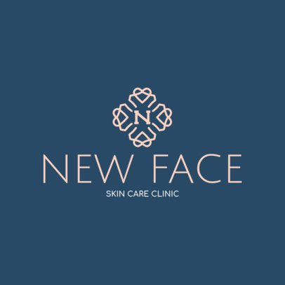 Skincare Clinic Logo Generator 1176g 156-el