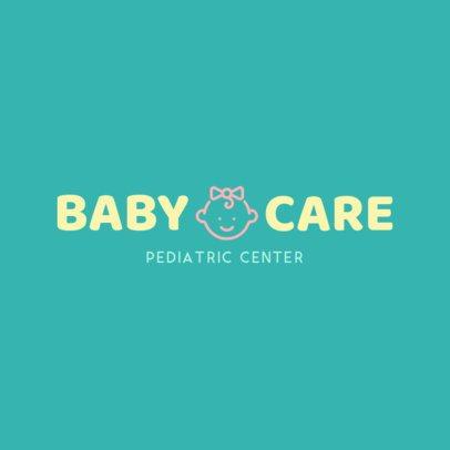 Simple Logo Maker for a Pediatric Center 1534f 136-el