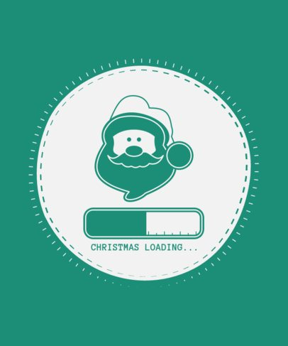 Holiday T-Shirt Design Maker Featuring Christmas-Themed Graphics 48-el