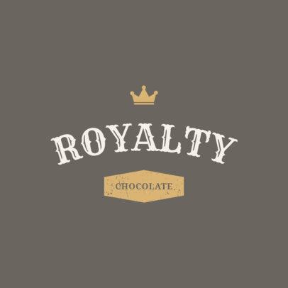 Elegant Logo Design Template for a Chocolate Company 1216f-284-el