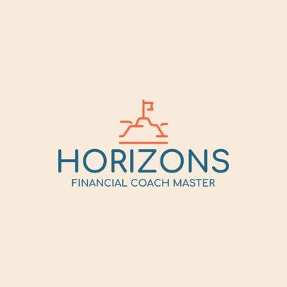 Simple Financial Coaching Logo Maker 2551l 266-el