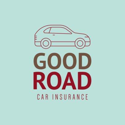 Online Logo Creator for a Car Insurance Company 277b-el