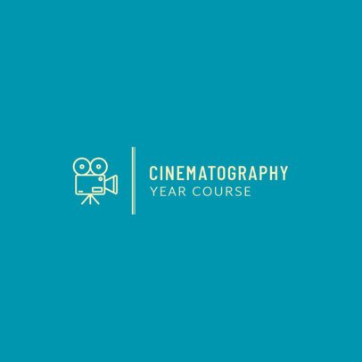 Logo Maker for a Cinematography Course 275b-el