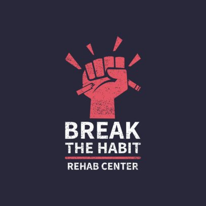 Online Logo Maker for a Recovery Center Featuring a Feist Graphic 2772e
