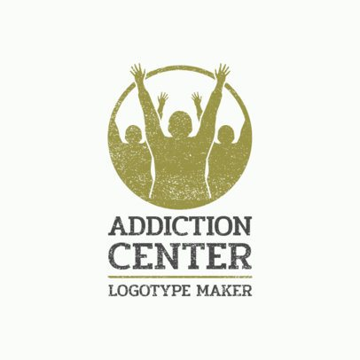 Logo Maker for a Center Specialized in Addiction Treatments 2772f