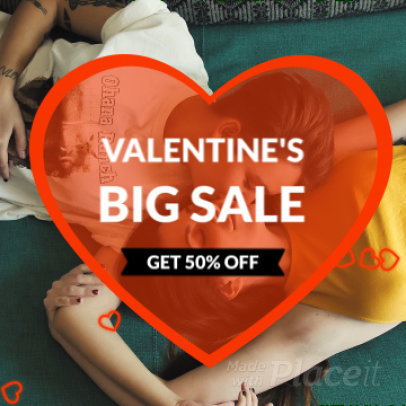 instagram Video Maker for a Valentine s Day Sale 1114