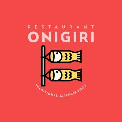 Japanese Food Restaurant Logo Maker 302-el
