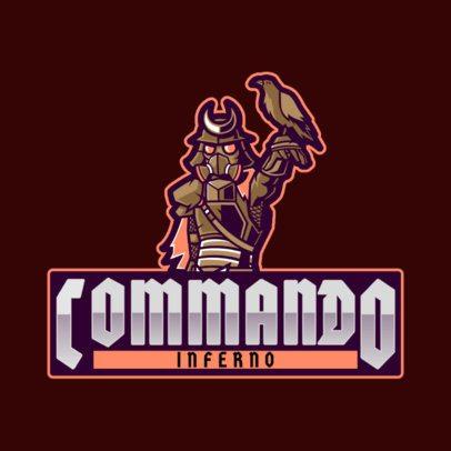 Gaming Logo Maker Featuring a Samurai Inspired in Apex Legends 2791h