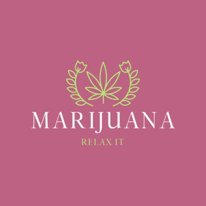 Logo Generator for Marijuana Products Brands 386a-el1