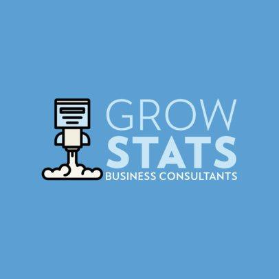 Online Logo Template for Business Consultants 492c-el1