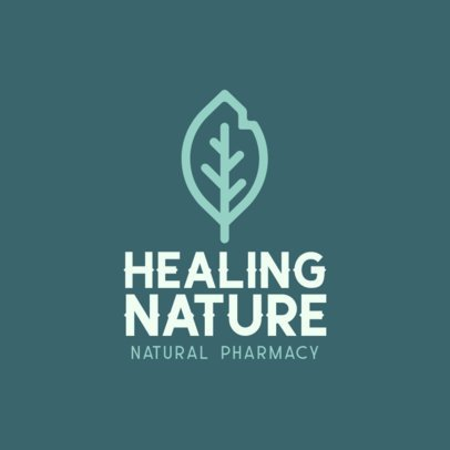 Logo Creator for a Natural Pharmacy 301c-el1