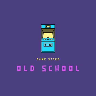 Gaming Logo Maker Featuring Retro Consoles 340-el1