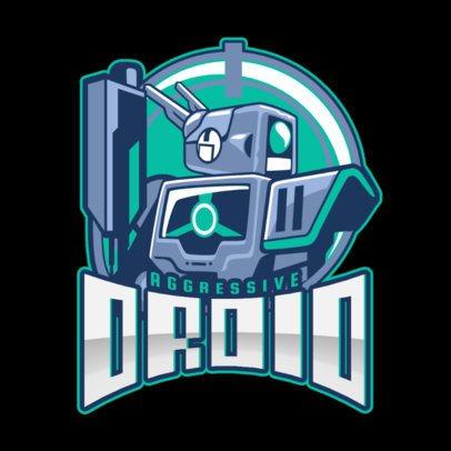 Mobile Legends-Inspired Logo Creator with a Droid Illustration 2455jj-2860