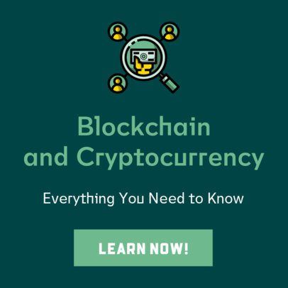 Banner Generator for a Blockchain Course 428b-el1