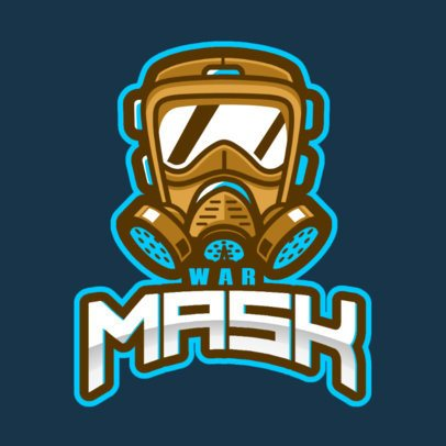 Rainbow Six Siege-Inspired Logo Maker Featuring an Illustrated Toxic Mask 2663p-2861