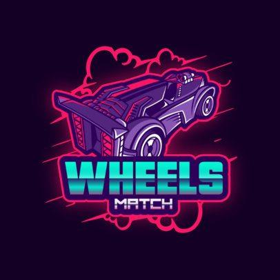Modern Logo Creator Inspired in Rocket League 2851f