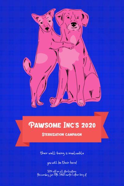 Flyer Template for a Pet Sterilization Campaign 2151c