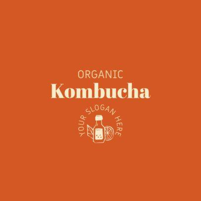 Logo Maker for an Organic Kombucha Brand 2842f