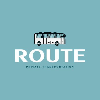 Logo Creator for a Bus Rental Business 616c-el1
