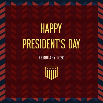 President's Day Instagram Post Generator 2201b