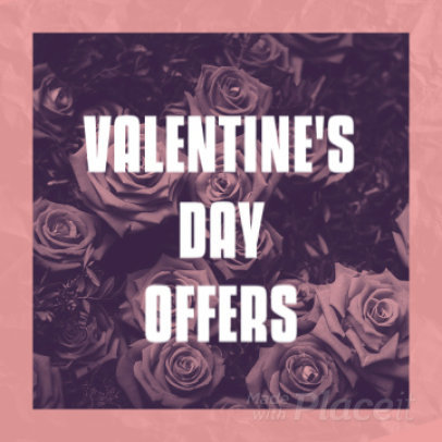 Valentine's Day Instagram Video Maker for a Special Promotion 2030