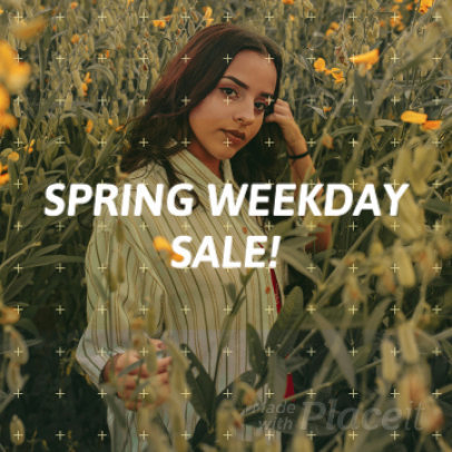 Instagram Video Maker for a Spring Sale 888c 864