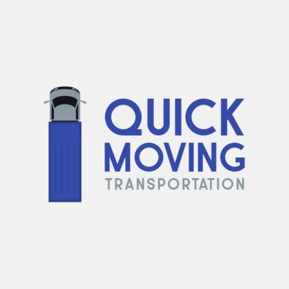 Simple Logo Maker for a Transportation Services Company 749-el1