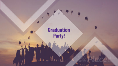 Video Maker for a Graduation Video Slideshow with Cool Animations 1316a 1846