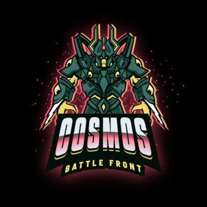 Team Logo Maker Featuring a Powerful Protoss-Inspired Character 2959b